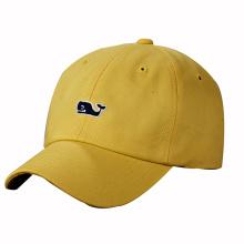 Boné de beisebol de algodão com bordados de logotipo