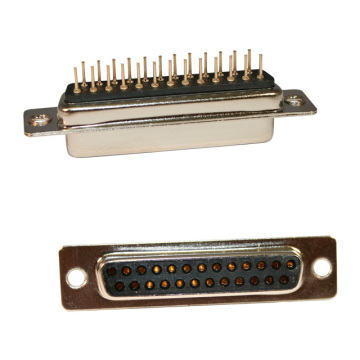 D-SUB FEMALE Straight PCB Machine Pin