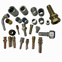 hydraulic hose ferrule and fittings for hydraulic rubber hoses carton steel logo possible