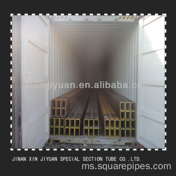 1.0-35mm CE Certificate Mild Steel Black Square Tubes