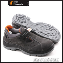 Sandal Leather Safety Shoes with Steel Toe Cap (SN5166)