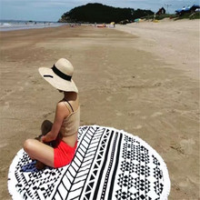 Replica Chanel Round Beach Towel 100% Cotton