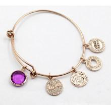 Bracelet de taille réglable avec des charmes personnalisés
