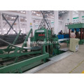 Feed bin forming machine line