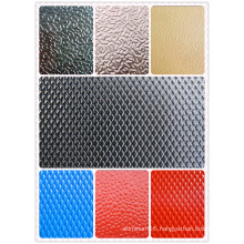 Color Coated Stucco Embossed Aluminum Sheet for Decoration Roofing (1050 1060 1100 3003 3105)