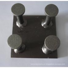 Placa de ancoragem de fixação em aço pré-moldado de concreto (ferragens para construção)