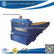 High Quality Glazed Tile Deck Panel Roll Forming Machine