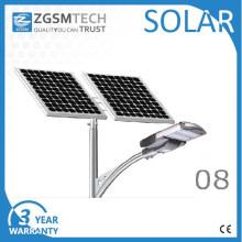 Tipo separado de la luz de calle de 80W Solar PV LED