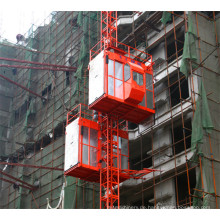 China-Fertigungs-Doppelkäfig-Bau-Gebäude-Hebemaschine