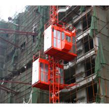 China Fabricación Jaulas dobles Construcción Edificio Alzamiento