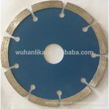 Disco de corte de ladrilho de granito sinterizado ponta de diamante