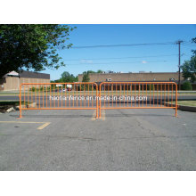 Orange Portable Crowd Control Barricade Panels