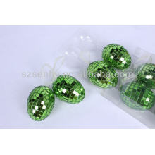 high quality 8 mirror eggs for Easter Day decoration