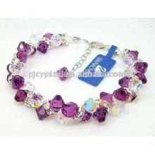 Kristall shambala Armband, schöne Perlen Armband Großhandel