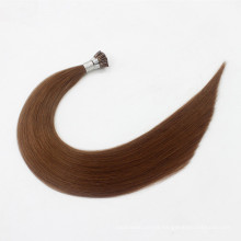 Prebonded italian keratin fusion Hair Double Drawn Human Hair I tip Hair Extensions