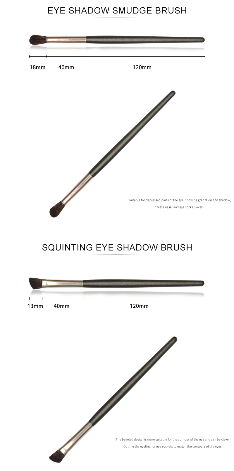 6 PCS Eyeshadow Brushes Set 3