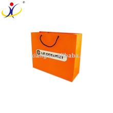 Более низкая цена рециркулированный изготовленный на заказ напечатанный белый крафт подарок бумажный мешок,бумажная хозяйственная сумка
