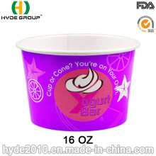 Paper Cup for Yogurt and Ice Cream (16 oz-5)