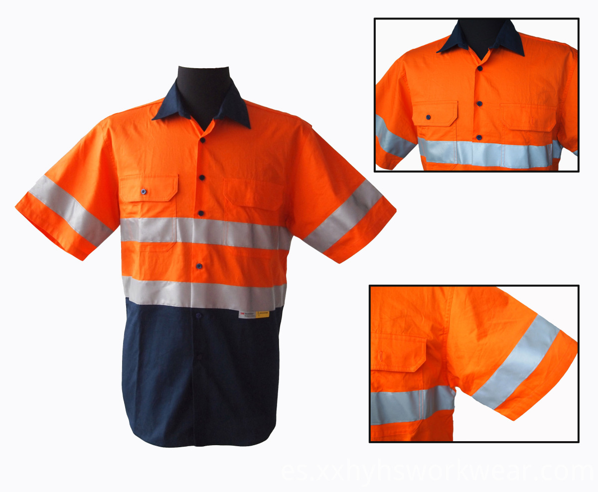 19 Reflective Work Shirts (2)