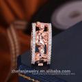 Meilleur prix de haute qualité fabricant de bijoux en gros Pas cher prix en gros cz anneau de mariage or