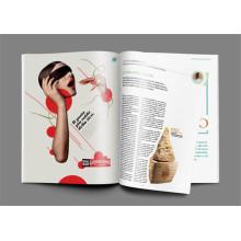 Revista de moda Magazine Magazine para publicação