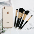 تخصيص 5Piece Essential Travel Makeup Brush 2019 Set