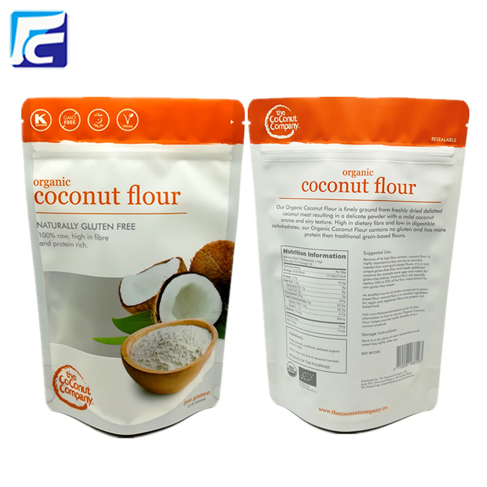 Coconut flour packaging bag