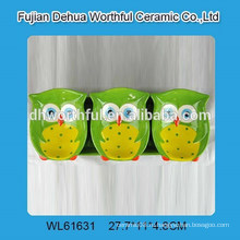 2016 Горячая керамическая плита для продажи с дизайном совы