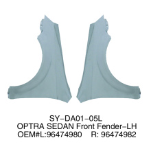 Front Fenders For Daewoo Optra Sedan