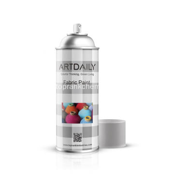 Spray Acrylfarbe auf Stoff