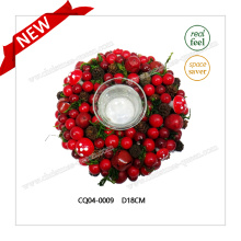 Dia. 18cm Fashionable Wedding Decoration Plastic Christmas Ornaments Christmas Gift