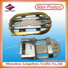 China-Fabrik-kundenspezifische Art- und WeiseZink-Legierungs-Metallmann-Frauen-Gürtelschnalle