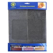 Coarse mech waterproof Sand screen sheet /sand screen sheet in square shape with package