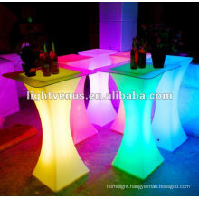 Night club, bar LED cocktail table