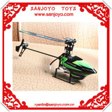 """Mini 2.4G """" Flybarless """" remote control helicopter V955 4ch with gyro propel rc helicopter parts"""