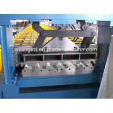 Máquina formadora de rolos de piso de aço laminado a frio Gi PPGL