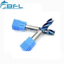 BFL CNC Metal Cutting Steel Milling Endmill Tools/Solid Carbide Square Blade CNC Milling Tool