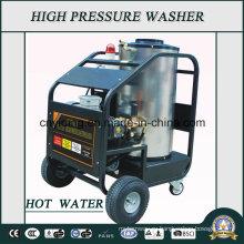 180bar Электрическая машина для промывки горячей воды для промышленных сред (HPW-HWD1815)