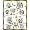 Настроить модные CZ кристалл подвеска ювелирные изделия Духи диффузор Locket