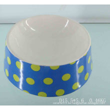Ronda cerámica Pet Food Bowl