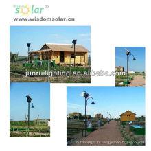 Lumière de jardin parc lumineux, solaire professionnel CE LED solaire