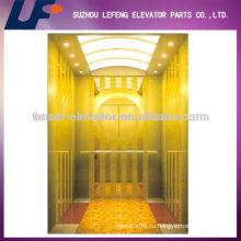 Роскошно титановый пассажирский лифт