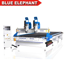 2055 Double Separate Heads China CNC Router Multi Spindle, Engraving Machines for Sale, CNC Woodworking Machinery