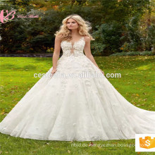 Realbild Reich viktorianisch elie saab Kleid hochwertiges Luxus Ballkleid Brautkleid Hochzeitskleid China Factory