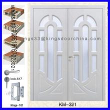 Входная Двойная Конструкция Главной Деревянной Дверью