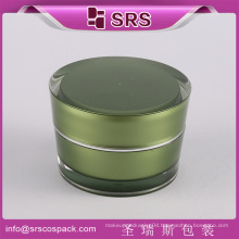 China online shopping round golden cosmetic face cream 50ml acrylic jar