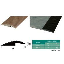 Flooring Accessories PVC Capping Strip Plastic Carpet Edge Trim