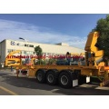 HOWO Side Lifter Container Trailer