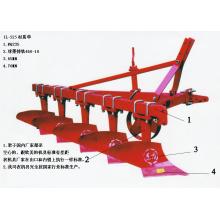 Maquinaria agrícola de carga pesada Share / surco arado venta caliente