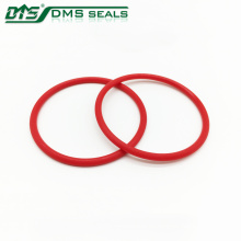 Anillo de desgaste del sello del cilindro rojo del anillo de la PU de la transmisión
